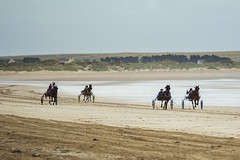Sulky racing on the beach (On Explore) (Frank Fullard) Tags: ireland horse irish race racing pony mayo doolough sulky erris belmullet fullard geesala frankfullard