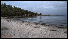 Grefstadvika, Fevik (Øyvind Bjerkholt (Thanks for 57 million+ views)) Tags: sky beach nature water beautiful norway clouds canon landscape eos norge hdr skyer sørlandet grimstad photomatix 600d austagder cs6 fevik grefstadvika