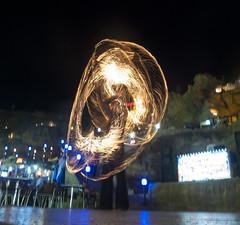 Light Painting (HotSnapshot) Tags: light lightpainting night painting lumix fire lights dance nightimages dancers dress dancing egypt sharmelsheikh nighttime dresses nightlight slowshutter nightlife sharm slowshutterspeed shutterpriority zaza lumixlx3 panasoniclumixlx3 aperturelight