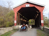 "The WooFPAK Did Great, Riding Through This Covered Bridge Without Any Hesitance • <a style=""font-size:0.8em;"" href=""http://www.flickr.com/photos/96196263@N07/9732272441/"" target=""_blank"">View on Flickr</a>"