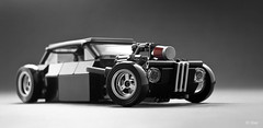Gnarly BMW 2002 Rat Rod _10 (_Tiler) Tags: car automobile lego engine bmw hotrod vehicle bmw2002 minifig stance ratrod minifigscale gnarlybmw gnarlybmw2002 gnarlybmw2002ratrod