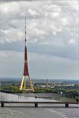 Radio and Tv Tower  Riga, Latvia (Stefan Cioata) Tags: travel vacation holiday tourism beautiful photography marketing europe view image sale exploring details great joy visit explore most sight lovely top10 iconic available advertise touristical flickrandroidapp:filter=none