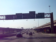"Southbound I-45 at Scott Street exit (FreewayDan) Tags: highway downtown texas expressway county"" area"" 2013 ""north ""houston 45"" ""© ""gulf ""harris ""interstate ""pierce freeway"" elevated"" freewaydan"""