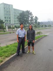 Pyongyang 10K City Run (uritours) Tags: red northkorea pyongyang dprk 10krun northkoreatour uritours pyongyangmarathon