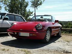 Alfa Romeo Spider 4a Serie '00 (GonzaloFG) Tags: detail slr ford chevrolet car sport skyline honda spain italia nissan evolution ferrari camaro mclaren enzo bmw gto jaguar mustang m3 ducati audi lamborghini rs m6 m5 challenge m4 avant v8 rs2 spotting s2000 e30 nsx gallardo amg drifting rs4 typer gtr trackday murcielago etype quattro gt40 f40 r8 f12 rs6 v12 f50 cosworth nismo e46 r34 e36 berlinetta superleggera 458 899 m3csl desmosedici panigale ftype 275gtb rs3 e92 worldcars circuitodeljarama stralade m235i clsicosventurada