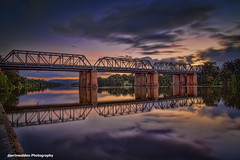 Nepean Rail Bridge (darrinwalden Photography) Tags: