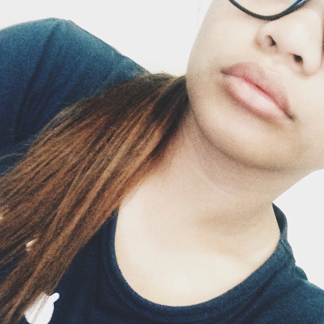Not gonna take the KYLIE JENNER CHALLENGE. LOL! Im satisfied with my lips already. 👄👌