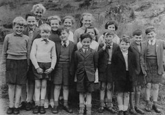 Clachan, Tarbert, Scotland (theirhistory) Tags: uk school girls pee boys shirt kids children scotland photo shoes dress pants sandals group tie skirt class jacket junior trousers jumper shorts primary peeing wetting