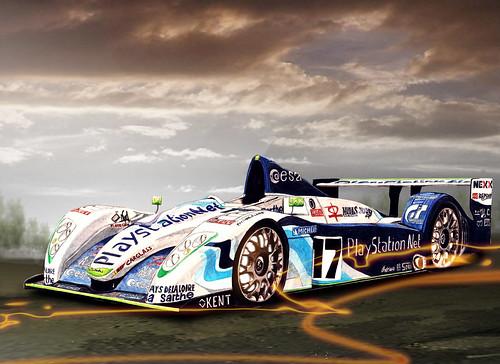 Pescarolo_Racecar (velt.mathieu) Tags: auto car sketch croquis