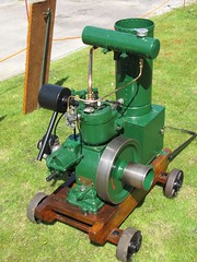 Hartop H (chazzer156) Tags: green 1936 fire 1 iron tank engine h cast copper 100th restored petrol brass per extinguisher seconds stationary 2012 horsepower cooling rebuilt 950 amberly hartop aniversiry reveloutions