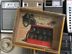 Journet Radio puzzle - early version (humberama) Tags: old original game radio vintage rj hand retro puzzle series held journet