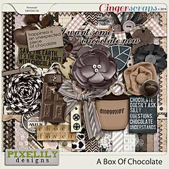 Pixelily Designs - A Box Of Chocolate (misshappy80) Tags: zwart wit grijs bruin chocolade chocolademelk pixelilydesigns