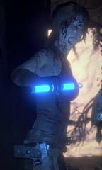 Alternate Shot (r4ng3r12) Tags: riseofthetombraider rottr lara croft laracroft tombraider cave glowstick