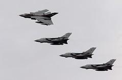 FOUR TORNADOS RAF (MANX NORTON) Tags: raf bbmf dakota coningsby lancaster spitfire hurricane typhoon eurofighter 41sq a400 atlas hercules c130 f35b falcon 20 tornado sentinel r1 alphajet jaguar harrier apache e3a boeing sentry shadow c17 qra islander hawk tucano 32sq hs146 king air b200 defender wildcat merlin hunter chinook eh101 airseekerrc135 lincs ambulance