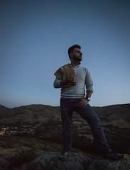 Sunrise Over Spain (NJHaupt) Tags: vaquero caballero portrait spain avila sunrise camp camping wilderness mountain mountains hills country countryside sky nikon d5300 tokina wideangle espana