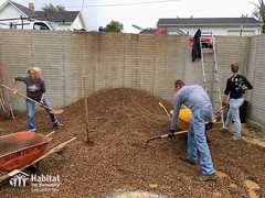 Hill_Fam_10-1_HFHECO-2.jpg (habitateco) Tags: hillfamily goodingsnursery gravel tar volunteer habitatforhumanity habitatforhumanityeastcentralohio
