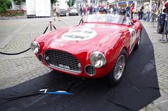Ferrari 225 S Spyder (osti_andrea) Tags: 225s sport s vignale coachbuilder carrozzeria carrozziere coppa doro delle dolomiti cortina dampezzo aci asi storico gara auto car race historical history regolarit rally cavallino rampante modena rosso classic