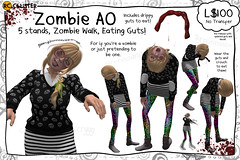 -RC- Zombie AO (-RC- Cluster) Tags: zombie ao animationoverride override animation animated walkingdead dead halloween zombies death monster guts brains blood gore costume rc rccluster reddcolumbia secondlife sl