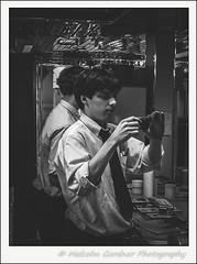 Camera Check (M Gardner Photography) Tags: salesman photographer camera portrait monotone monochromemonday