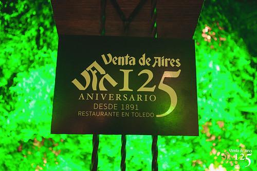 Logo 125 aniversario Venta de AIres Toledo. Creativia Marketing
