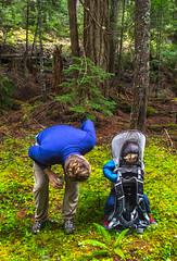 DSCF4404 (LEo Spizzirri) Tags: bevin morgan peter odin huck huckleberry shug cabin northwest seattle forest pacific mushroom moss josh betsy ladder green thick