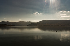 Calm (papaeuth) Tags: greece prespes florina landscape lake ipirosditikimakedonia gr