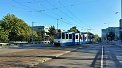 Marathonwissel (Peter ( phonepics only) Eijkman) Tags: amsterdam city bn trapkar tram transport trams tramtracks rail rails strassenbahn streetcars gvb nederland netherlands nederlandse noordholland holland