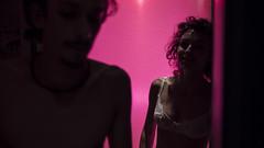 --- (HolyBull77) Tags: pink relation arri alpha7s 50mm girl man boy redlight light dark set cinema photo actor