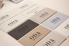 ODA (El Calotipo) Tags: businesscards tarjetas silkscreen serigrafa diseo design stamp printing identity identidad
