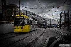 ManchesterVictoria2016.10.09-14 (Robert Mann MA Photography) Tags: manchester manchestervictoria manchestercitycentre greatermanchester england victoria victoriastation manchestervictoriastation manchestervictoriarailstation victoriarailstation city cities citycentre architecture summer 2016 sunday 9thoctober2016 manchestermetrolink metrolink trams tram nightscape nightscapes night light lighttrails