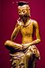 Pensive Bodhisattva (Yunhyok Choi) Tags: smcpentaxfamacro50mmf28 korea pentax pentaxk3 artifact bronze buddah buddhism gold museum sculpture statue ìì¸í¹ë³ì ëí민êμ kr