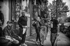 Lower East Side (Roy Savoy) Tags: bw blackandwhite streetphotography street city people roysavoy nyc newyorkcity newyork blacknwhite streets streettog streetogs ricoh gr2 candid flickr explore candids photography streetphotographer 28mm nycstreetphotography gothamist tog mono monochrome flickriver snap digital monochromatic blancoynegro