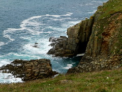 Waves (Ramona H) Tags: landsend cornwall england cliff cliffs ocean sea atlanticocean granite