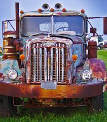 Autocar (racerx6948) Tags: autocar truck trucks semitruck diesel rusty oklahomatrucksupply oklahoma antique pentax