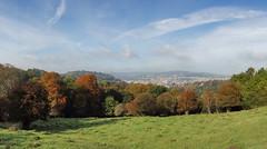 Bath from Prior Park (The^Bob) Tags: england somerset bath priorpark nationaltrust autumn mist