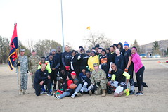 20161123-A-TN961-086 (The 4th Infantry Division) Tags: 4thinfantrydivision 4thinfdiv 4th sustainment brigade turkey bowl championship game camaraderie espirit d corps holiday flag football unit sports teams ironhorsedivision