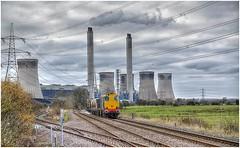 20305 & 20312. West Burton East Junction. (Alan Burkwood) Tags: westburtonps bole drs 20305 20312 rhtt diesel locomotive