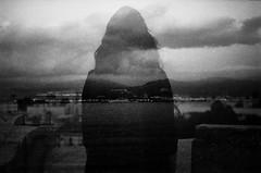 film (Victoria Yarlikova) Tags: monochrome 35mm film analog pellicola darkroom grain scan iso100 doubleexposure zenit lomo analogphotography retro vintage helios dreamy