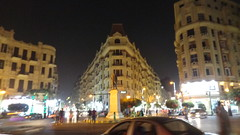Talaat Harb Square (Rckr88) Tags: talaat harb square talaatharbsquare talaatharb cairo egypt africa travel architecture buildings building nights night lights light city cities roads road streets street travelling downtowncairo downtown statue statues