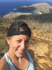 selfie! (peakintheclouds) Tags: selfie hike trail kokohead kokoheadcrater honolulu oahu hawaii outside freshair workout