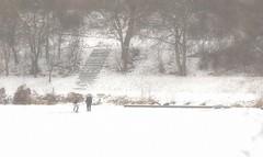 Ice on the river (petr_kozelek) Tags: river ice boys winter