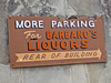 Barbano's Liquors, Oneida, NY (Robby Virus) Tags: oneida newyork ny upstate state more parking barbanos liquors arrow rear building lot booze liquor store business