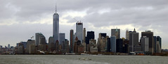 Manhattan Skyline Sailing on the Staten Iisland Ferry New York November 2016Sailing on the Staten Iisland Ferry New York November 2016  (22) (Richie Wisbey) Tags: manhattan skyline staten island ferry fre service new york