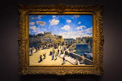 """Pont Neuf - Paris"" - Auguste Renoir - National Gallery - West Wing (andrewhardyphotos) Tags: pont neuf paris 18411919 art augusterenoir french museum nationalgallerywestwing nikond7200 painting sigma1750mmf28exdcoshsm washingtondc oiloncanvasc18031804"