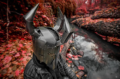 The Indestrible Perspective (Patrick.Younger.Photography) Tags: indesttructible portrait creative location forest movie comic figure character ra real ability helmet design mask