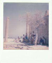 Hommage a Martin Parr 2 (Simone.Morgagni) Tags: grce greece lindos martin parr sx70 polaroid impossible project tourists turismo turisti acropoli