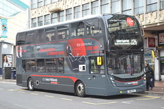 National Express West Midlands 6761 SN16OUU (Will Swain) Tags: birmingham 11th october 2016 bus buses transport travel uk britain vehicle vehicles county country england english west midland midlands city centre wm nx nxwm national express 6761 sn16ouu