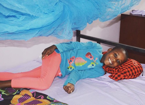 "Caren 💕 taking time for a little rest and relaxation on her bed in the new #tuleeniorphanage! #loveher #family #relax • <a style=""font-size:0.8em;"" href=""http://www.flickr.com/photos/59879797@N06/30875567315/"" target=""_blank"">View on Flickr</a>"
