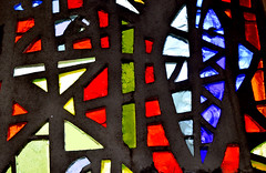 Sadie Mclellan stained glass dalle de verre (RDW Glass) Tags: sadie mclellan dalledeverre stainedglass killearn scotland hugh macdiarmid terrible crystal poem rdwglass