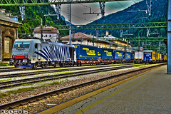 Lokomotion E186.440 (DavideEos) Tags: eisenbahn ferrovia railway treno train zug brennero lokomotion e186 bombardier